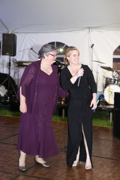 Executive Director of HopeWorks Dorothy Shugrue and Executive Director of Playhouse o Photo