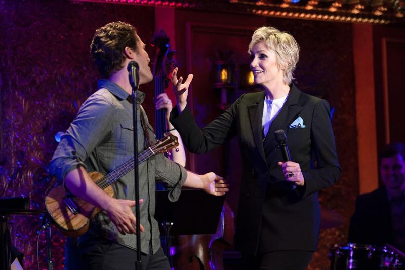 Matthew Morrison & Jane Lynch Salute GLEE & THE WIZARD OF OZ At 54 Below Gig