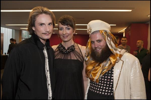 Austin Scarlett, Jill Pangallo and Shane Shane