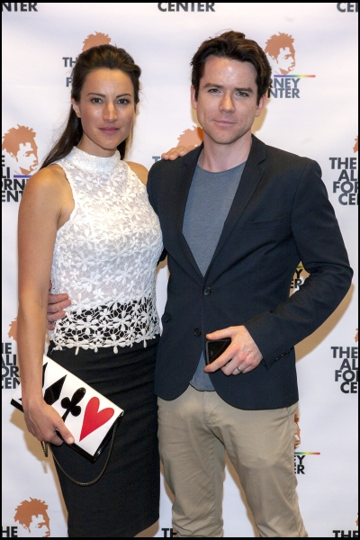 Christian Campbell and America Olivo Photo