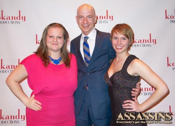 ASSASSINS Stage Manager J.C. Widman, Kokandy Productions Executive Producer Scot Koka Photo