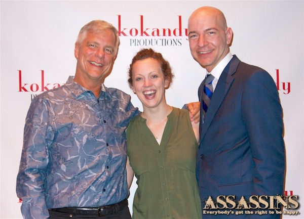 Kokandy Productions Co-Artiostic Directords John D. Glover and Allison Hendrix with Executive Producer Scot Kokandy