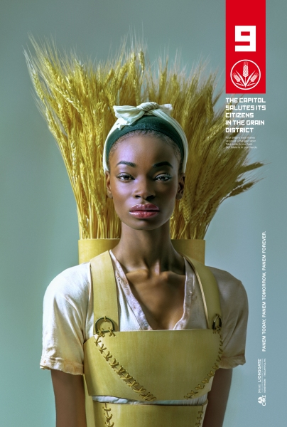 Photo Flash: The Capitol Celebrates 'District Heroes' in Stunning Promo Posters for THE HUNGER GAMES: MOCKINGJAY - PART 1
