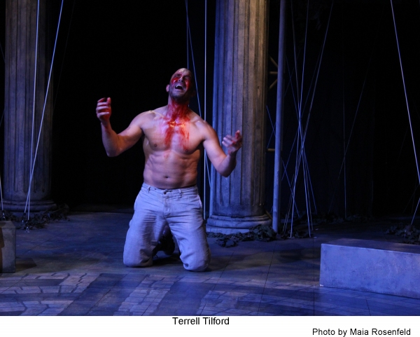 Photo Flash: First Look at Antaeus Company's THE CURSE OF OEDIPUS, Opening Tonight
