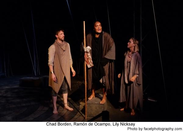 Chad Borden, Ramon de Ocampo and Lily Nicksay