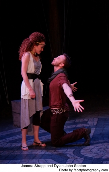 Joanna Strapp and Dylan John Seaton