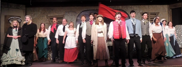 Photo Flash: First Look at LES MISERABLES at Way Off Broadway Dinner Theatre