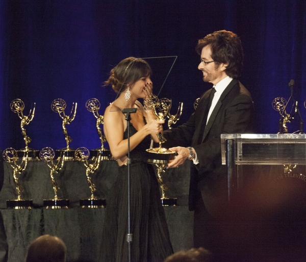 George Chakiris presents the Daytime EMMY to a lucky recipient