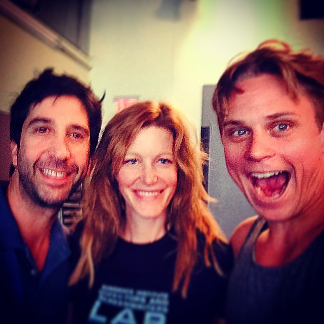 Billy Magnussen, David Schwimmer & Anna Gunn Tweet From SEX WITH STRANGERS Rehearsal