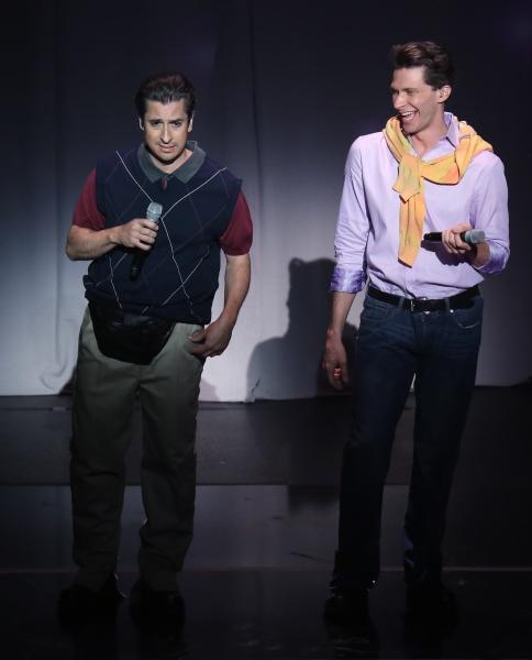 Matthew Saldivar and Joey Taranto perform in  ''Rock Hard!'' Photo