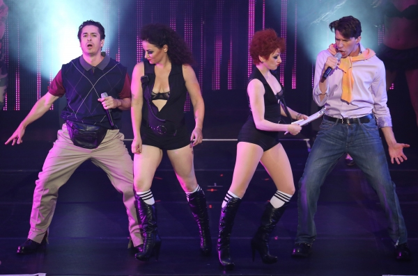 Matthew Saldivar and Joey Taranto perform  in''Rock Hard!''