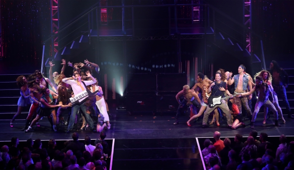 Joey Taranto and Matthew Saldivar perform in ''Rock Hard!''