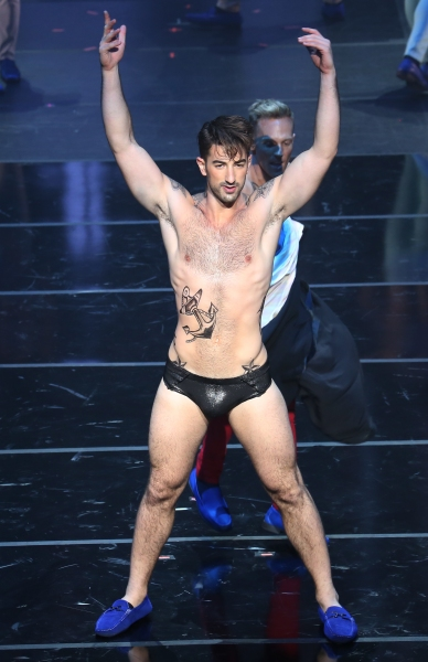 Photo Coverage: Brandon Rubendall & BROADWAY BARES Company Channels Elvis at ROCK HARD!