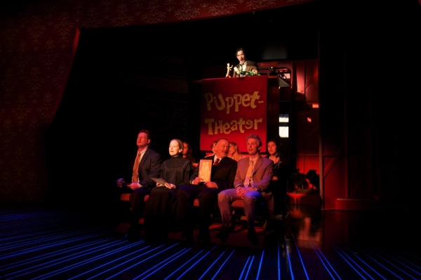 Photo Flash: First Look at Richard Kind, Emily Trask and More in TRAVESTIES at Bay Street Theater