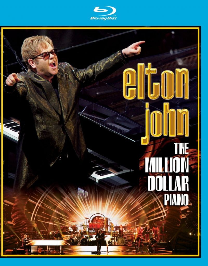 Elton John's THE MILLION DOLLAR PIANO DVD & Blu-ray Now Available For Pre-Order, Out 7/1