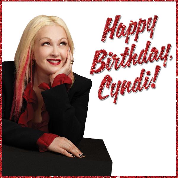 KINKY BOOTS Wishes Cyndi Lauper A 'Kinky Birthday'