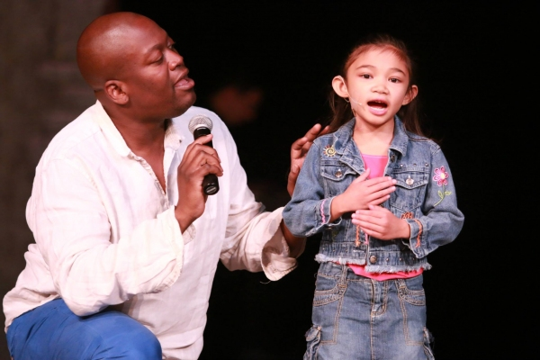 Tituss Burgess and Angelica Hale Photo