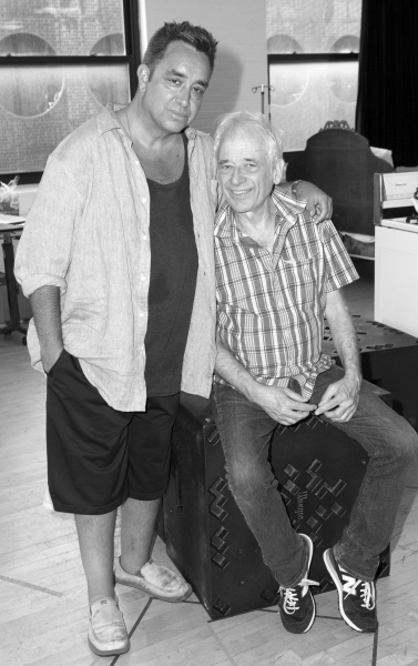 Playwright Stephen Adly Guirgis and Director Austin Pendleton