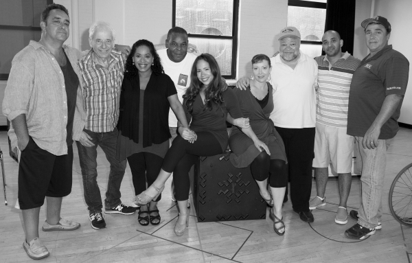 Playwright Stephen Adly Guirgis, Director Austin Pendleton, Liza Colon-Zayas, Ray Anthony Thomas, Rosal Colon, Elizabeth Canavan, Stephen McKinley Henderson, Victor Almanzar, and Michael Rispoli