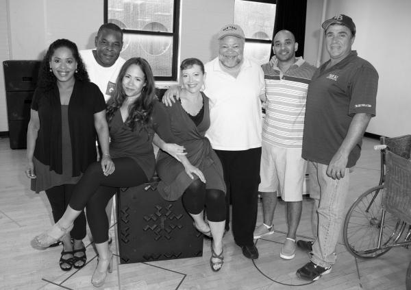 Liza Colon-Zayas, Ray Anthony Thomas, Rosal Colon, Elizabeth Canavan, Stephen McKinley Henderson, Victor Almanzar, and Michael Rispoli