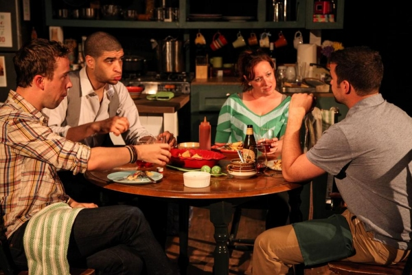 Photo Flash: First Look at LiveWire Chicago's PARTNERS, Opening Tonight