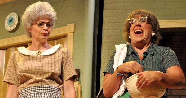 Licia Watson as Vivian and Karen Pappas as Mavis