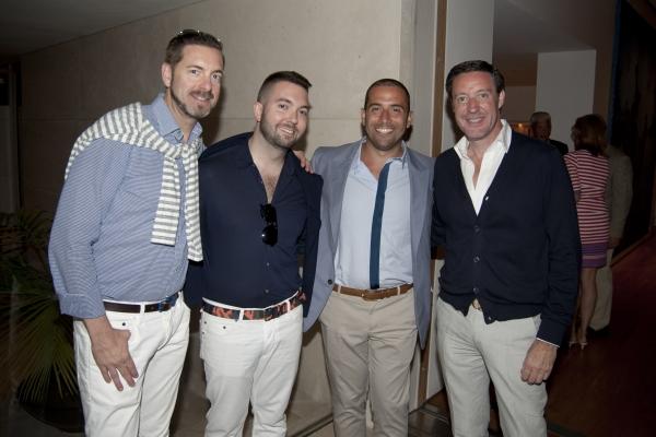 Shawn Roche, Doug Roach, Jose Castro and David Scott