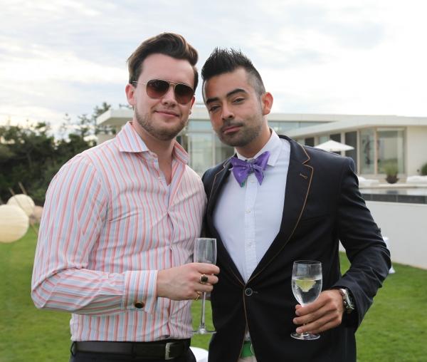 Steven Cole and Lucas Mendieta Photo