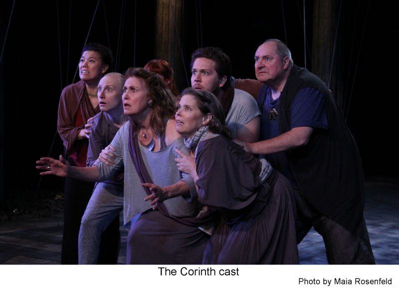 BWW Reviews: The Antaeus Company Successfully Mounts the World Premiere of THE CURSE OF OEDIPUS
