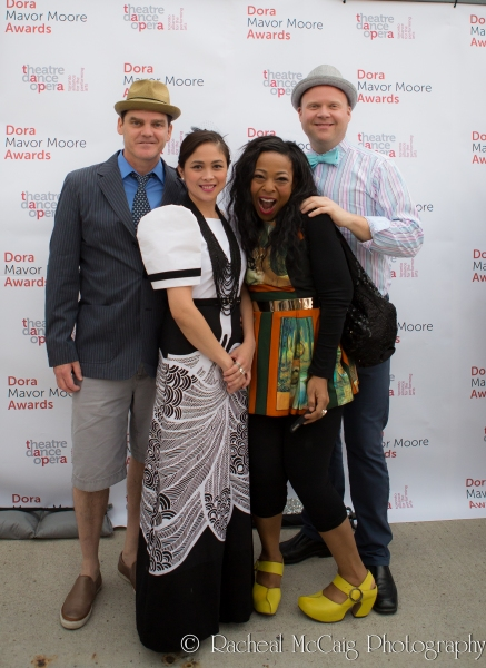 Shawn Wright, Ma-Anne Dionisio, Jenni Burke and Derrick Miller Photo
