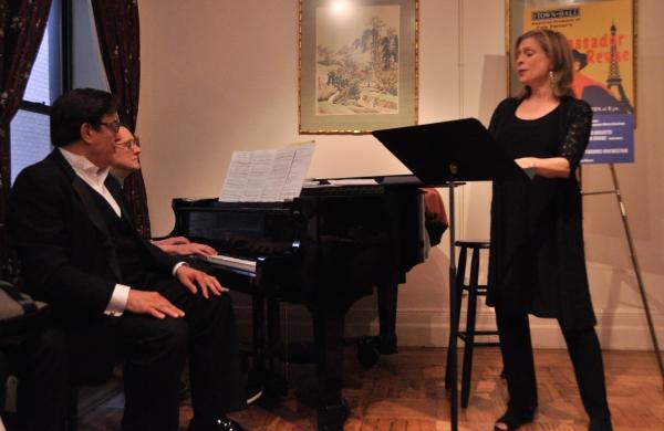 Cince Giordano and Amy Burton