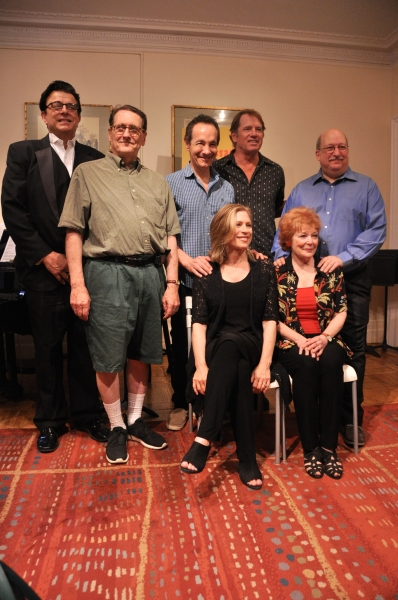 The Cast and Creative Team-Vince Giordano, Jason Graae, Tom Wopat, Ken Bloom, Amy Burton and Anita Gillette