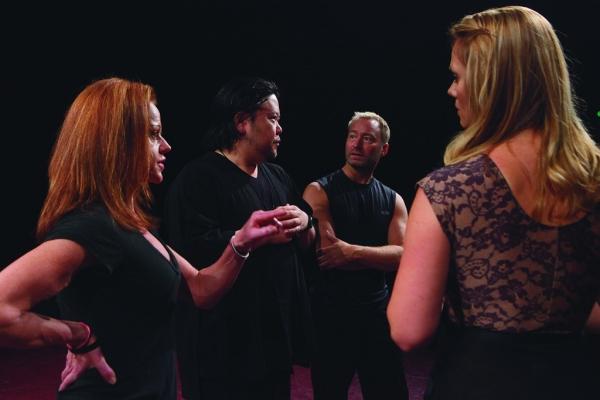 Kathryn Mowat Murphy (Laura/Dance Captain), Stafford Arima (Dir.), Randy Slovacek (Choreo.) and Kate Levering (Cassie)