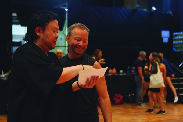 Stafford Arima (Director) and Randy Slovacek (Choreographer)