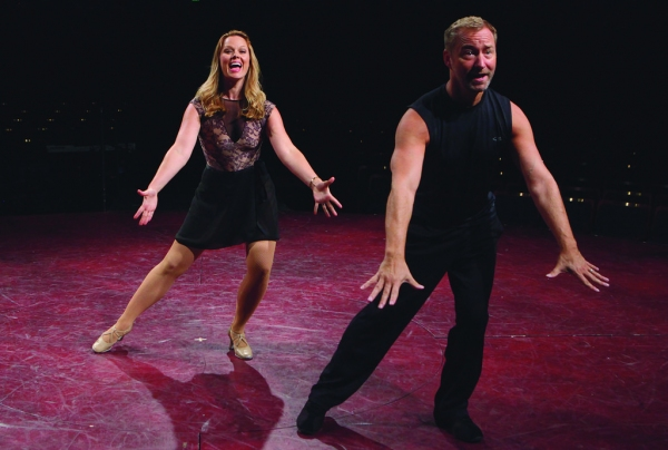Kate Levering (Cassie) and Randy Slovacek (Choreographer)
