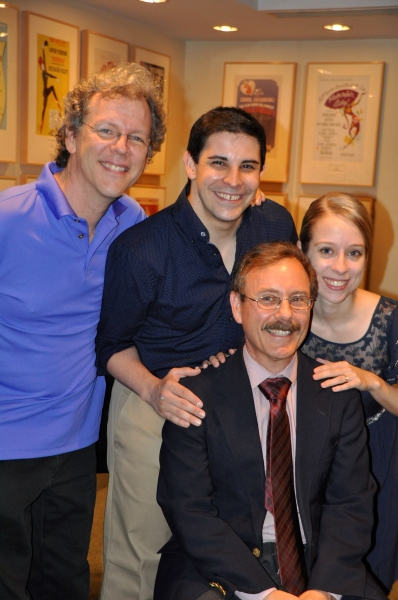Photo Coverage: Nathan Tysen and Arthur Perlman Receive 24th Annual Kleban Awards!