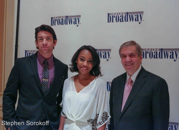 Andy Karl, Anika Noni Rose, Michael Presser, Executive Director Inside Broadway