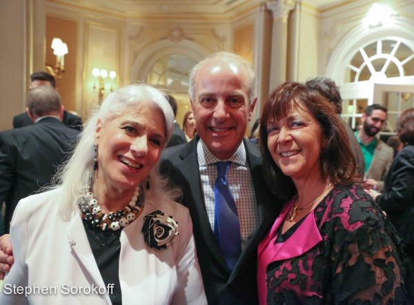 Jamie deRoy, Joseph Benincasa President & CEO The Actors Fund, Paula Kaminsky Davis