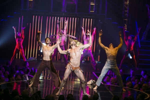 Photo Flash: HOT, HOT, HOT! BROADWAY BARES Rocks Hard at Hammerstein Ballroom