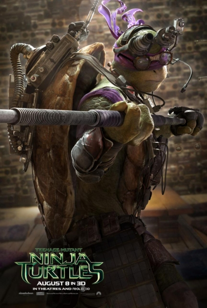 New Poster Art & Trailer for TEENAGE MUTANT NINJA TURTLES!