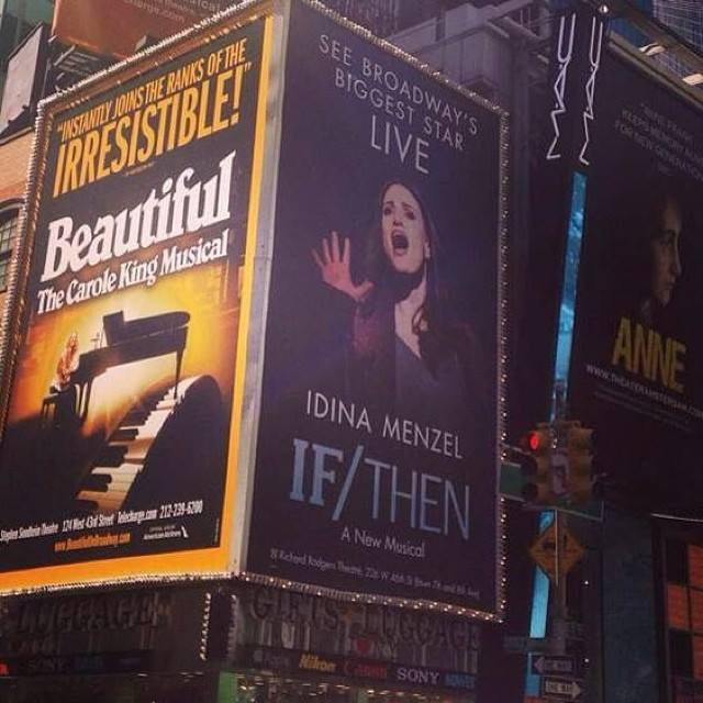 Idina Menzel Showcased In Eye-Grabbing New IF/THEN Advertisement