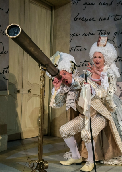 Photo Flash: First Look at Shakespeare Theatre of New Jersey's THE LEARNED LADIES