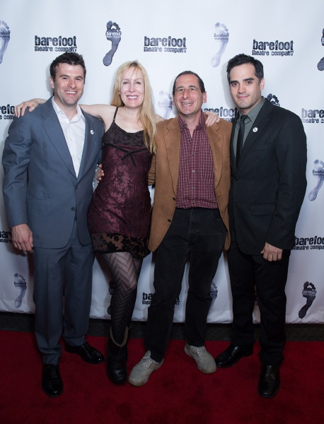 Christopher Whalen, Denise Reiss, Mike Reiss, Francisco Solorzano Photo