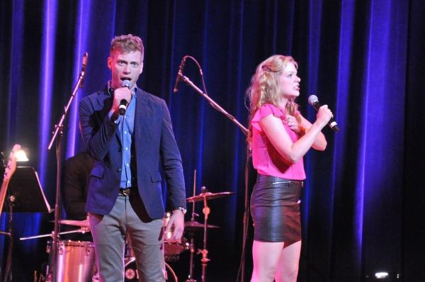 Barrett Foa and Jillian Louis