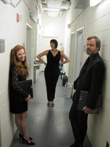 Andrea Lynn Green, Julia Murney and Bradford Cover