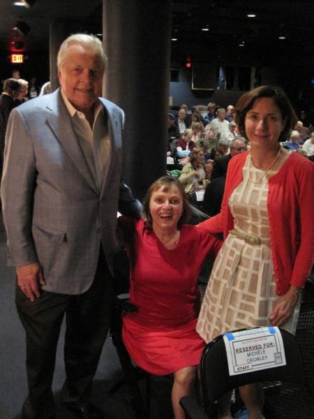 Robert Osborne, Lizzie Glassborow and Martha Gurwit