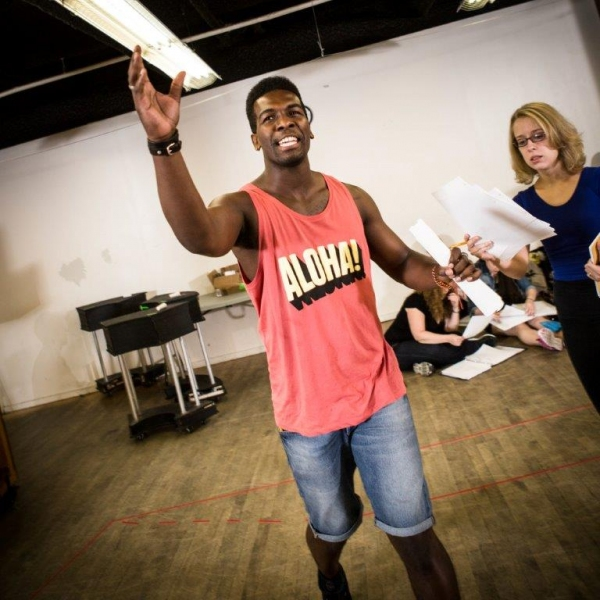 Photo Flash: Sneak Peak - In Rehearsal with NYMF's ACADEMIA NUTS