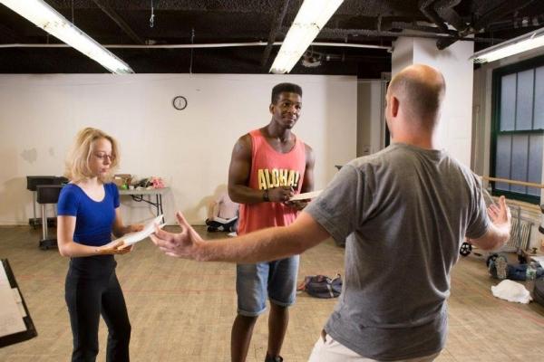 Photo Flash: Sneak Peak - In Rehearsal with NYMF's ACADEMIA NUTS