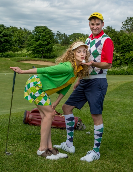 Photo Flash: Sneak Peek at the Cast of THE FOX ON THE FAIRWAY at Saint Michael's Playhouse