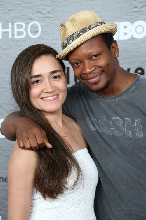 Lawrence Gilliard Jr. with beautiful, Girlfriend Michelle Paress